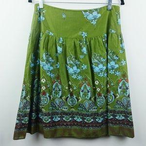 Xhilaration Boho Floral Skirt Size Medium
